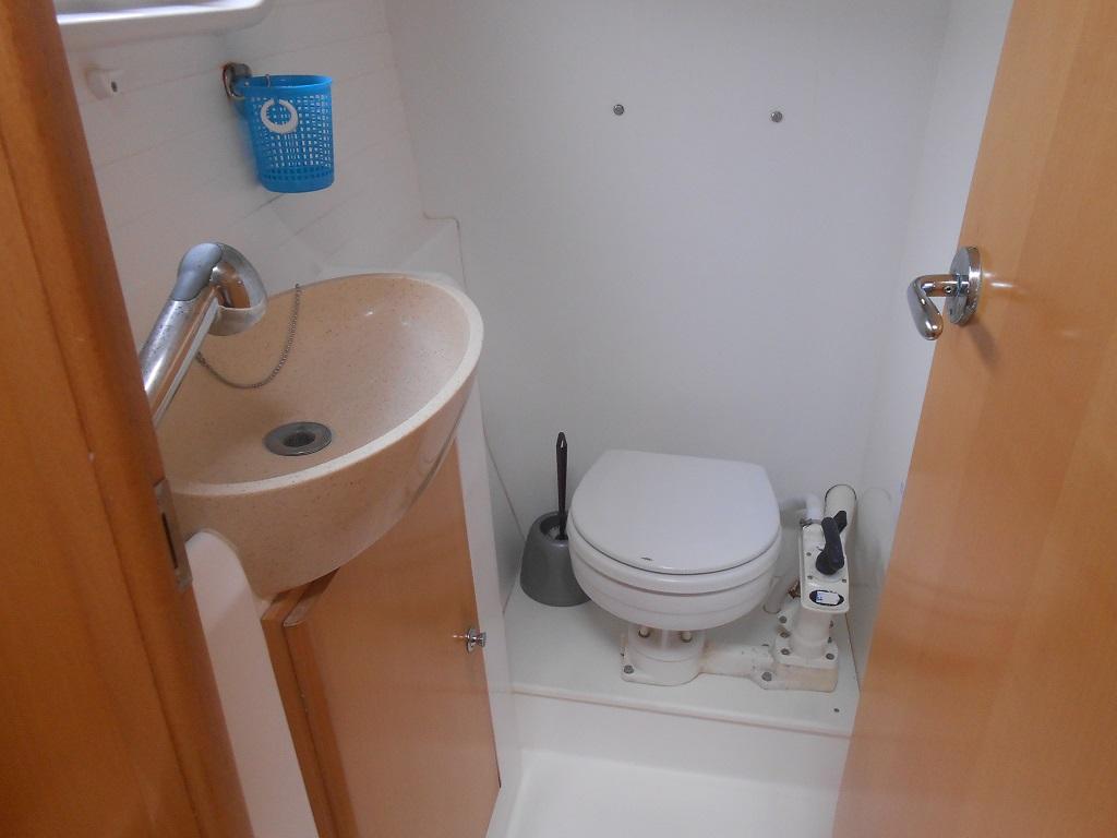 Salle de bain du Nautitech 442