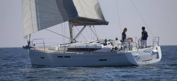 Sun Odyssey 409 en navigation