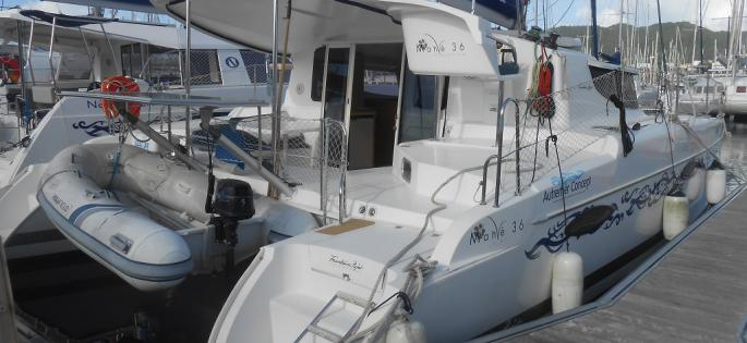 Fountaine-Pajot Mahé 36 evolution outside