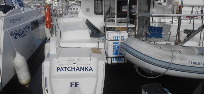 Fountaine-Pajot Mahé 36 evolution back