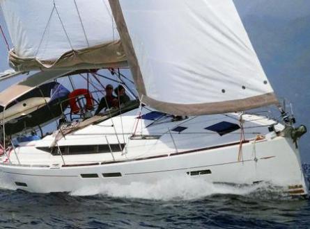 Sun Odyssey 409 en naviguation