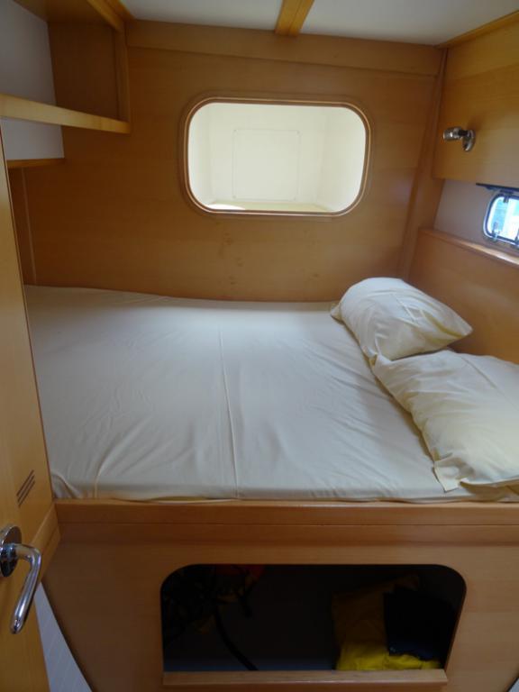 Nautitech 442 cabine avant tribord + pointe avant