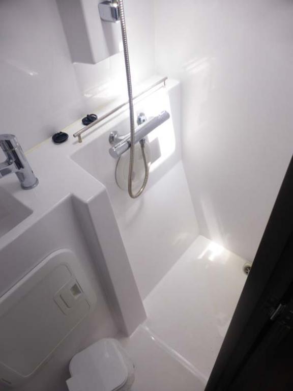 Nautitech Open 40 Autremer Concept salle d'eau
