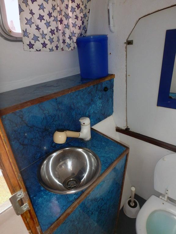Wc de bord babord