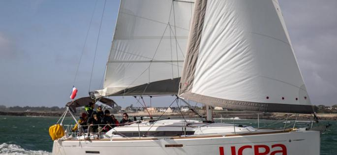 Sun Odyssey 389 sous voiles