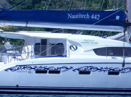 Nautitech 442 à Bequia